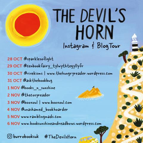 The Devil's Horn blog tour graphic 2019 10 23.png